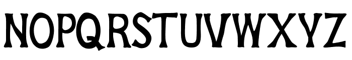 House of Glory Font LOWERCASE