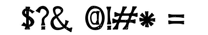 HouseofGloryVintage-vintage Font OTHER CHARS