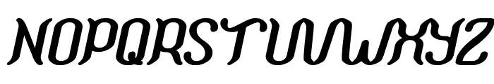 Humaira Aruna Jasmine Bold Italic Font UPPERCASE
