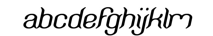 Humaira Aruna Jasmine Italic Font LOWERCASE