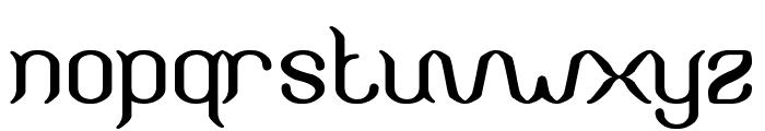Humaira Aruna Jasmine Font LOWERCASE