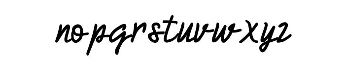 HumienlyAlt Font LOWERCASE