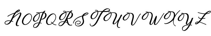 Humildebold-Bold Font UPPERCASE