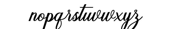 Humildebold-Bold Font LOWERCASE