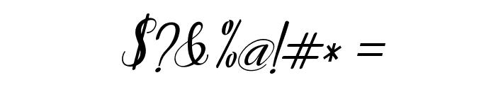 Humildeitalic-Italic Font OTHER CHARS