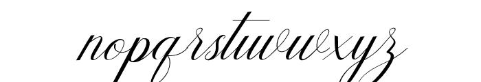 Humildeitalic-Italic Font LOWERCASE