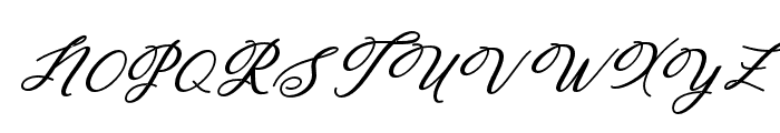 Humildeitalicbold-BoldItalic Font UPPERCASE
