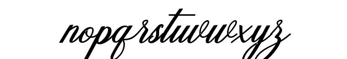 Humildeitalicbold-BoldItalic Font LOWERCASE