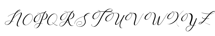 Humilderegular Font UPPERCASE