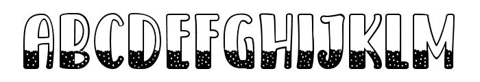 ICE CREAM SODAWATER 06 Regular Font LOWERCASE
