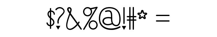 ILoveYouMonkey Font OTHER CHARS