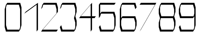 Identity regular Font OTHER CHARS
