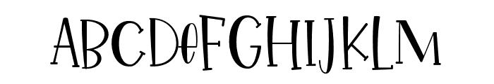 IkanSalmon-Regular Font UPPERCASE