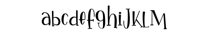 IkanSalmon-Regular Font LOWERCASE