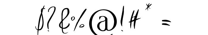 Imagination Regular Font OTHER CHARS