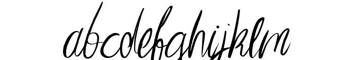 Imagination Regular Font LOWERCASE