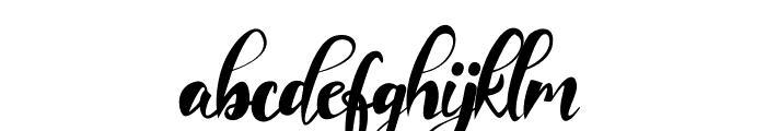 Imaginational Font LOWERCASE