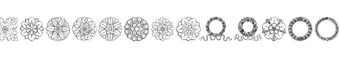 ImperioRomano Medium Font LOWERCASE