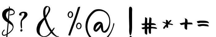 ImportantElementScript Font OTHER CHARS