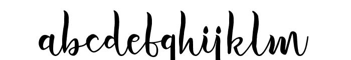 ImportantElementScript Font LOWERCASE
