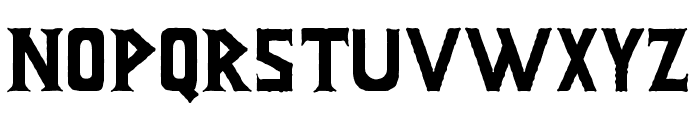 Infamous Font UPPERCASE