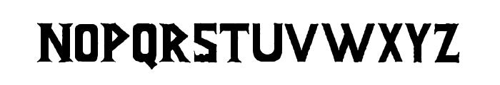 Infamous Font LOWERCASE