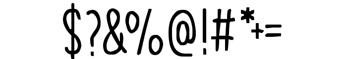 Infinite Possibilities Font OTHER CHARS