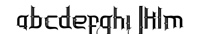 InlanderBataviaStrip Font LOWERCASE