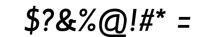 Inprimis-BoldItalic Font OTHER CHARS