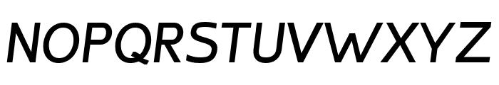 Inprimis-BoldItalic Font UPPERCASE