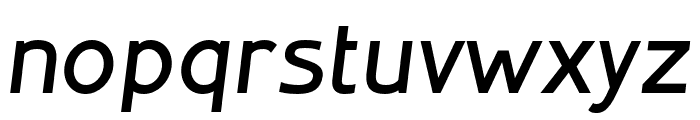 Inprimis-BoldItalic Font LOWERCASE