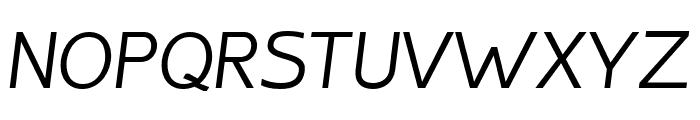 Inprimis-Italic Font UPPERCASE