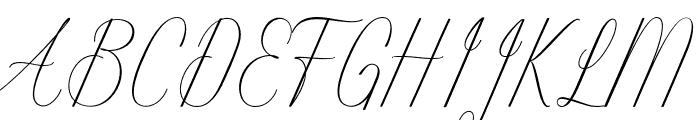 Intelligent Font UPPERCASE
