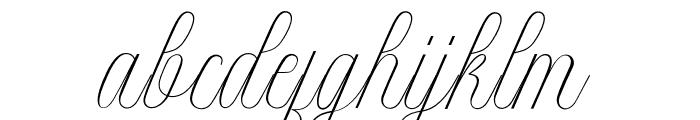 Intelligent Font LOWERCASE