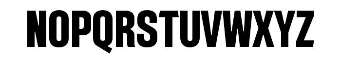 Intensa-BoldCondensed Font UPPERCASE