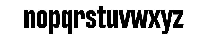 Intensa-BoldCondensed Font LOWERCASE