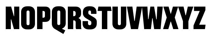 Intensa-ExtraBoldCondensed Font UPPERCASE