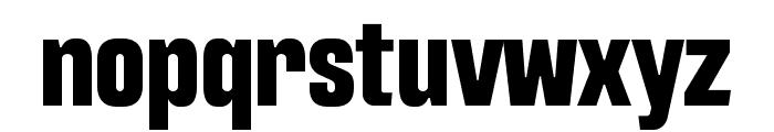 Intensa-ExtraBoldCondensed Font LOWERCASE
