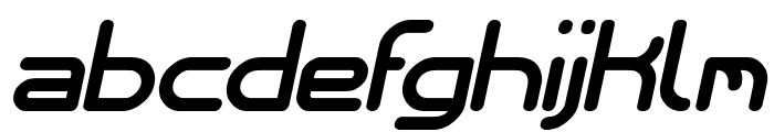 Internationalist Bold Italic Font LOWERCASE