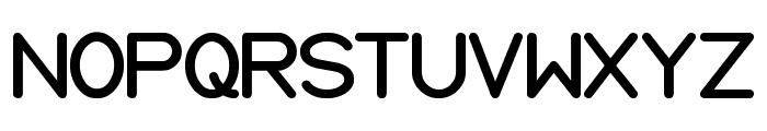 Internationalist Bold Font UPPERCASE