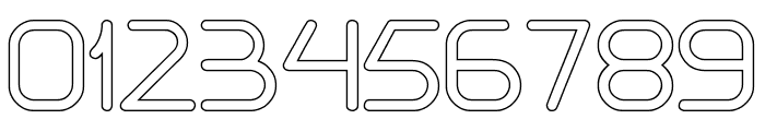 Internationalist-Hollow Font OTHER CHARS