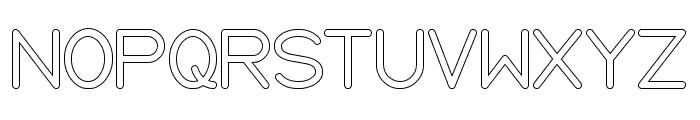 Internationalist-Hollow Font UPPERCASE