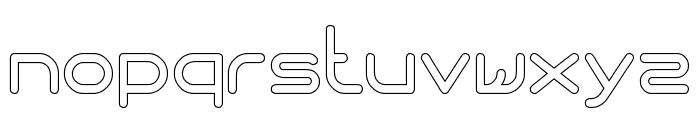 Internationalist-Hollow Font LOWERCASE