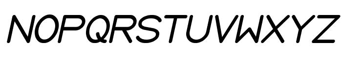 Internationalist Italic Font UPPERCASE