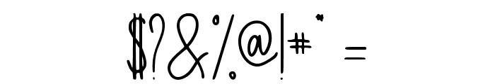 Invitation Regular Font OTHER CHARS