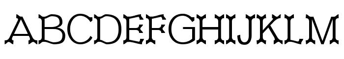 Ironworks Font UPPERCASE