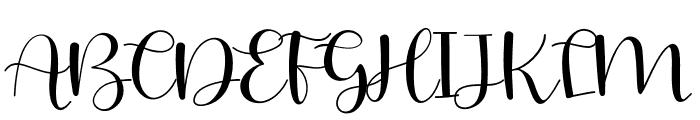JUDESSANT-Regular Font UPPERCASE