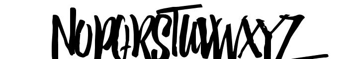 Jack Daniels Font UPPERCASE