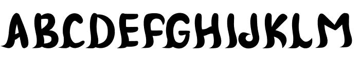 Jack Homework Font UPPERCASE