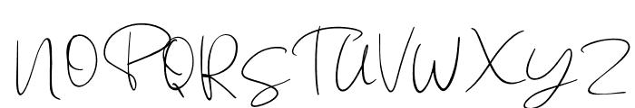 Jackson Regular Font UPPERCASE